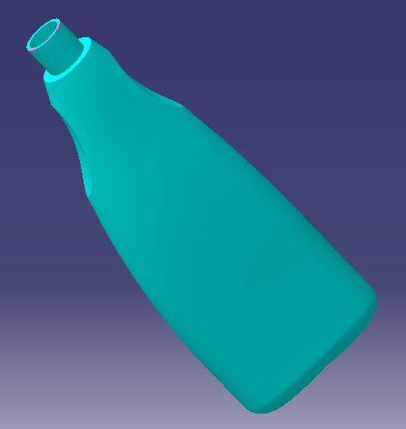 نمونه کار بطری با کتیا